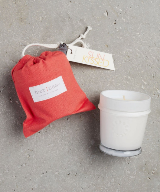 Mersea Sandbag Candle - Sunkissed
