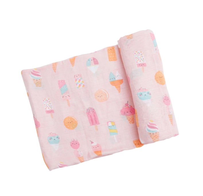 Angel Dear Muslin Swaddle - Ice Creams