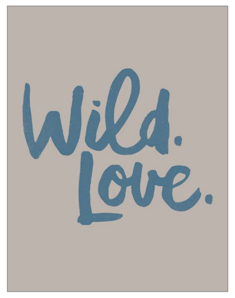 Breathless Paper Co. Card - Wild Love