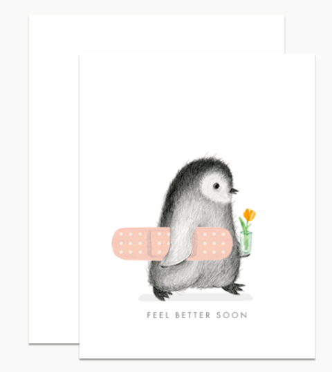 Dear Hancock - Feel Better Soon Card