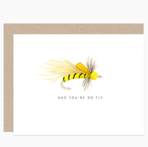 Dear Hancock - Dad Fly Card