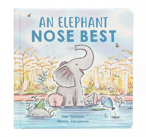 Jellycat - An Elephant Nose Best Book