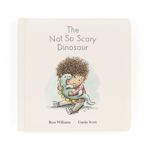 Jellycat - The Not So Scary Dinosaur Book