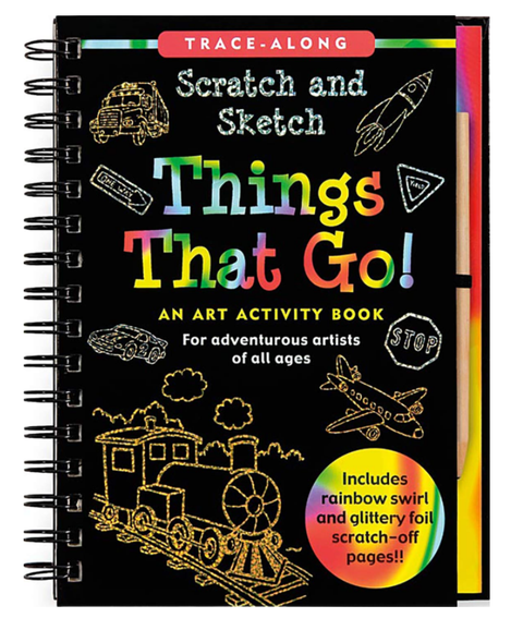 Scratch & Sketch - Things That Go
