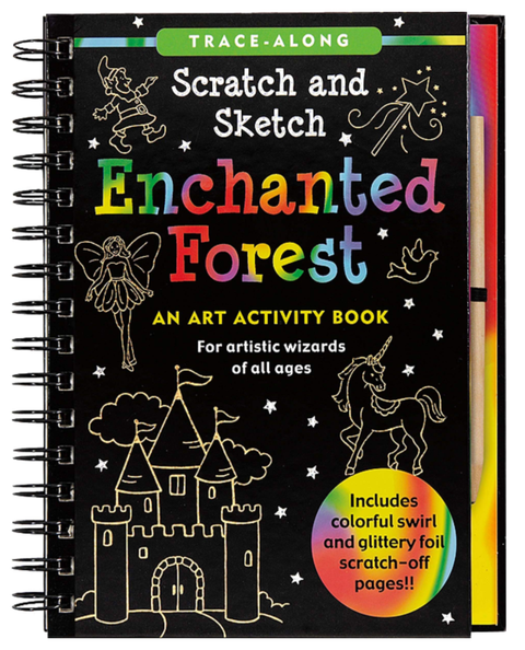 Scratch & Sketch - Enchanted Forest