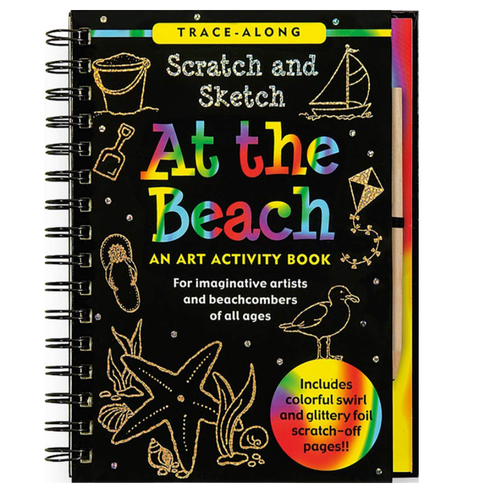 Scratch & Sketch - At The Beach