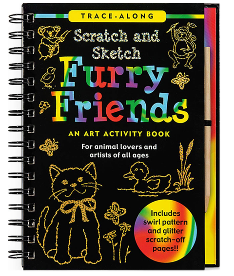 Scratch & Sketch - Furry Friends
