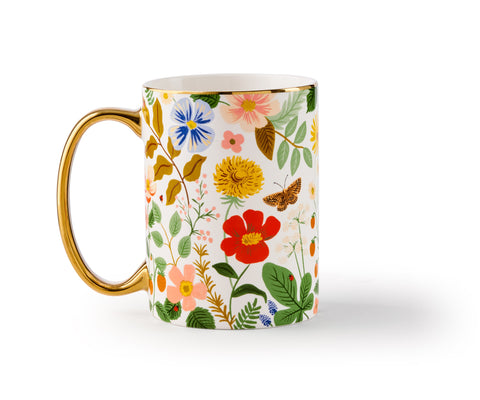 Rifle Paper Co. Porcelain Mug - Strawberry Fields