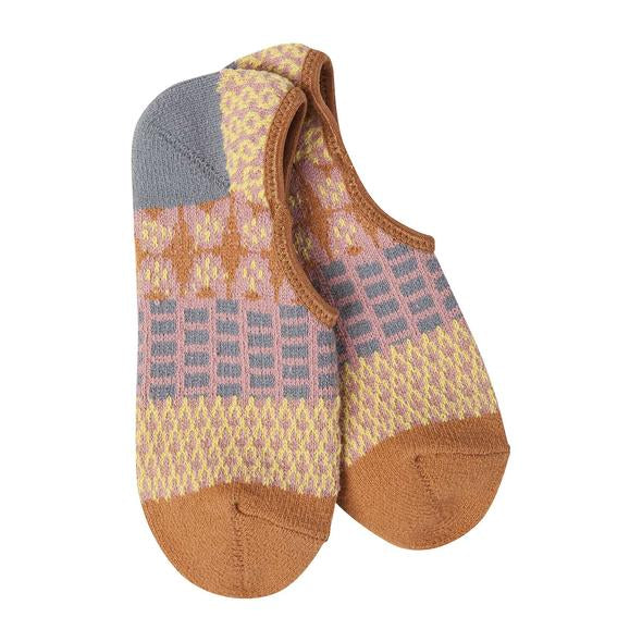 World's Softest Socks - Weekend Gallery Footsie - Golden Fields