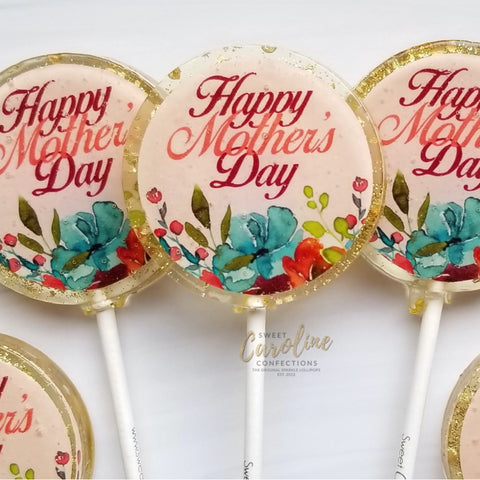 Lollipops - Mother's Day - Peach