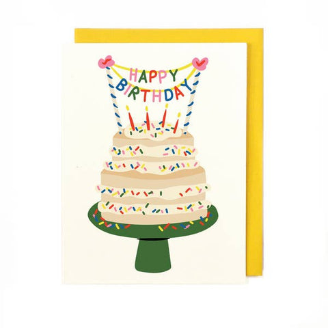 Sprinkles Cake Card