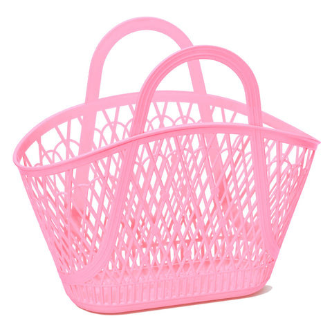 SunJellies Betty Basket - Bubblegum Pink