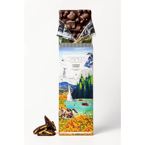 Compartes - Campfire S'Mores Chocolate Bar