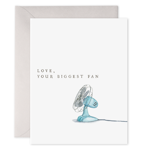 E. Frances Paper - Card - Biggest Fan