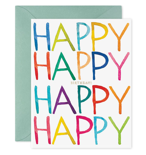 E. Frances Paper - Card - Really Happy Birthday