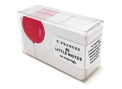 E. Frances Paper - Little Notes - Balloon