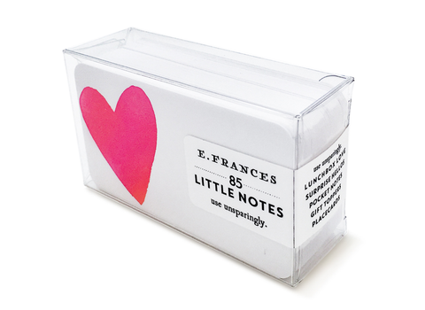 E. Frances Paper - Little Notes - Big Heart