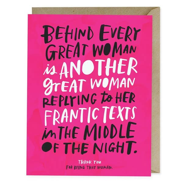 Emily McDowell Card - Every Great Woman