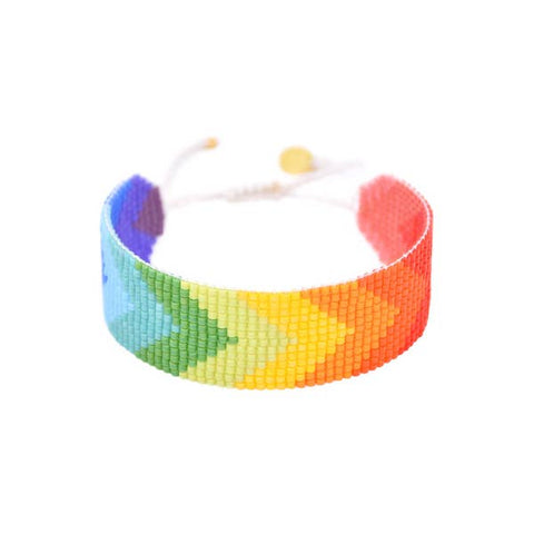 Mishky - Beaded Bracelet - Rainbow Forward