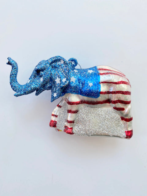Ornament - Republican Elephant