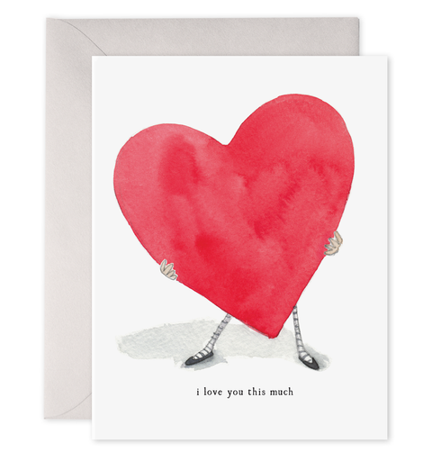 E. Frances Paper - Card - I Love You This Much