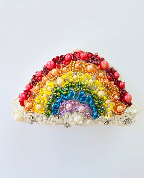 Ornament - Beaded Rainbow