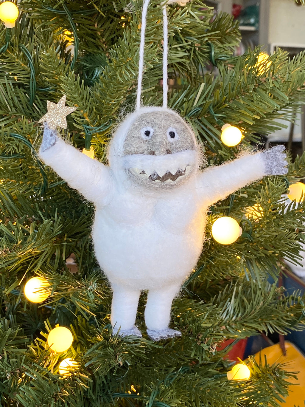 Ornament - Abominable Snowman