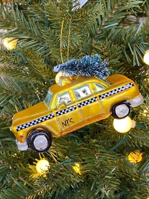 Ornament - NYC Taxi