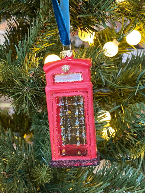 Ornament - London Telephone Booth