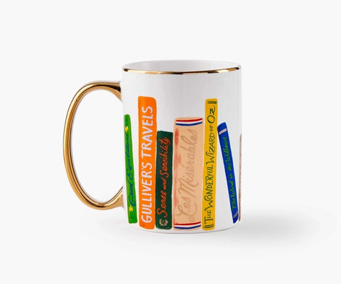 Rifle Paper Co. Porcelain Mug - Book Club