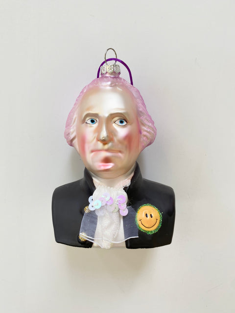 Ornament - Hipster George Washington
