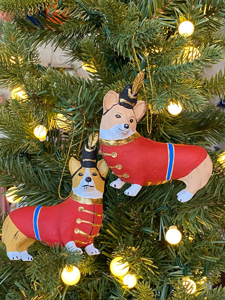 Ornament - Christmas Corgi