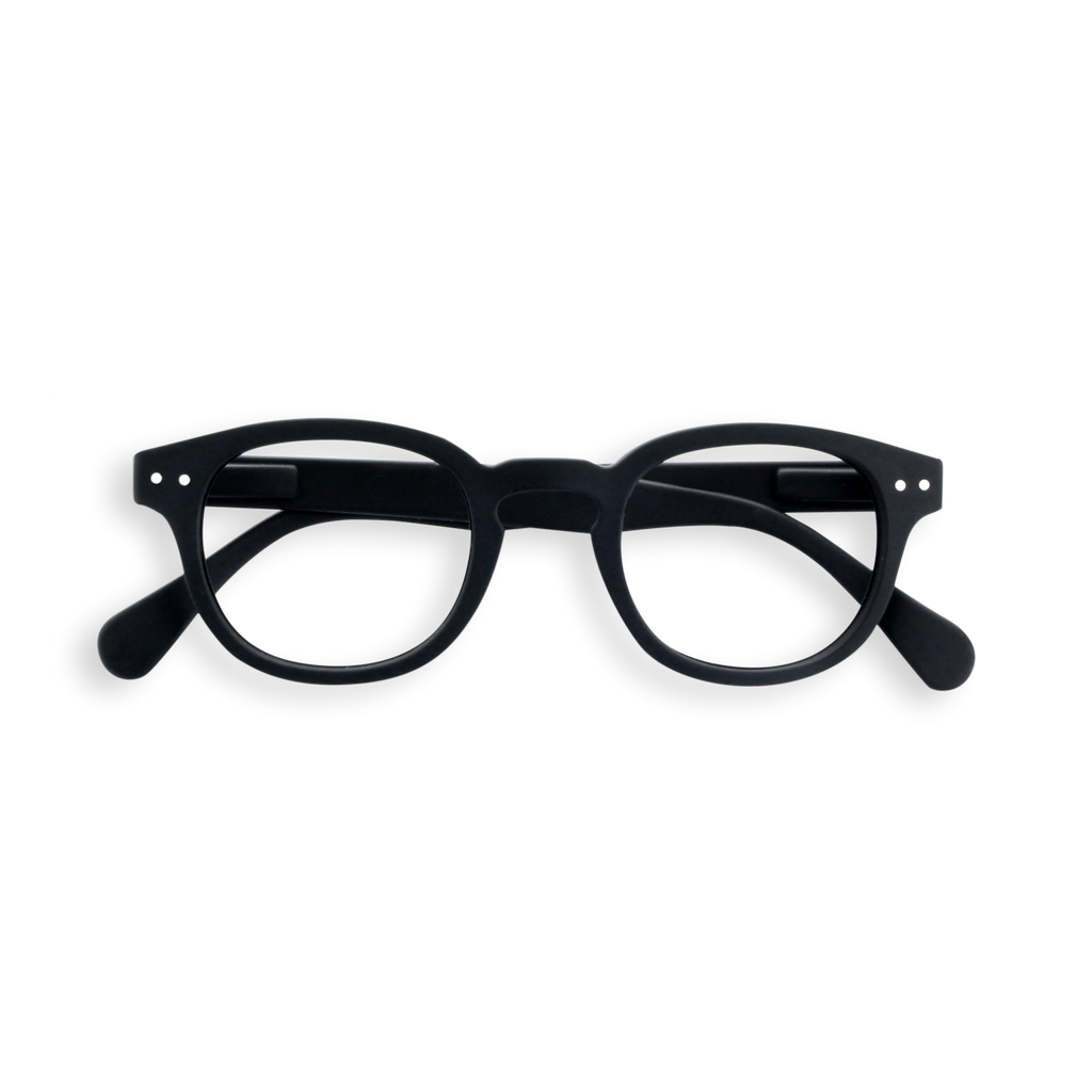 Izipizi Junior Screen Readers - Retro - Black