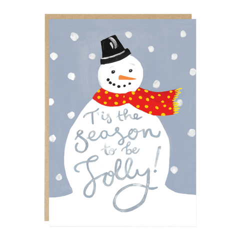 Jade Fisher Card - Frosty / Christmas