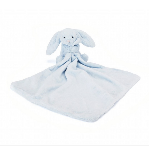Jellycat Bashful Light Blue Bunny Soother