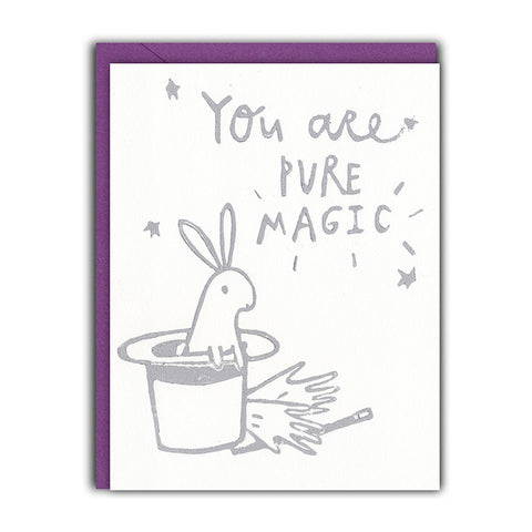 You're Magic Love/Friendship Card