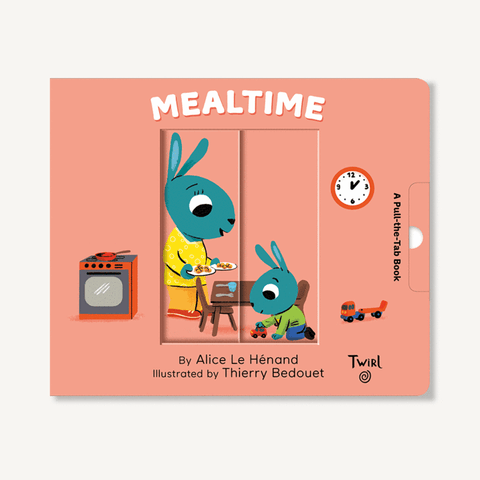 Mealtime Pull Tab Book