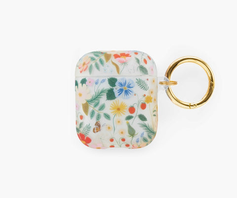 Rifle Paper Co. AirPod Case - Clear Strawberry Fields