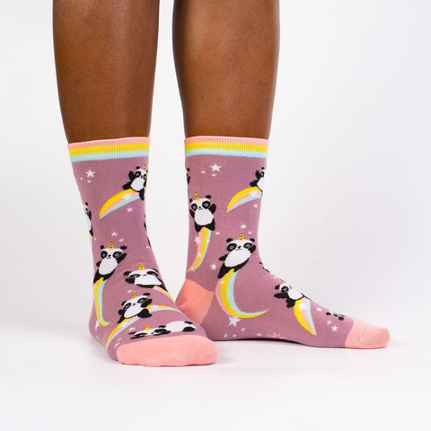Sock It To Me Women's Crew Socks - Pandacorn