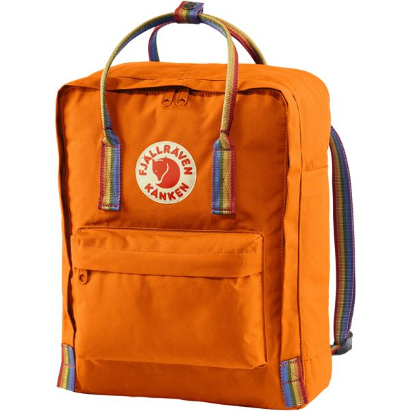 Kanken Backpack - Orange Rainbow