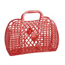 SunJellies Retro Basket Large - Red