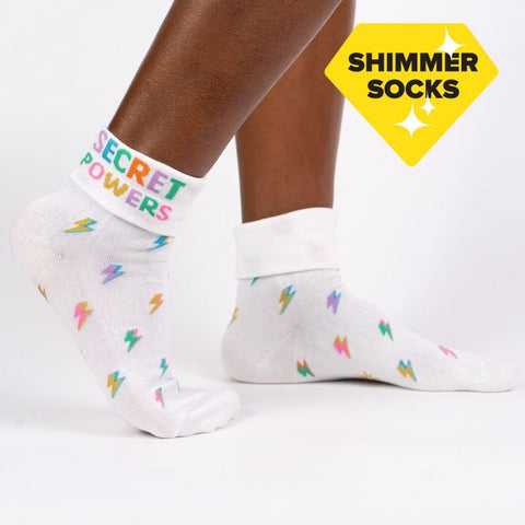 Sock It To Me Women's Crew Socks - Secret Powers