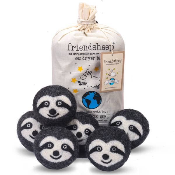 Friendsheep - Sloth Squad Eco Dryer Balls