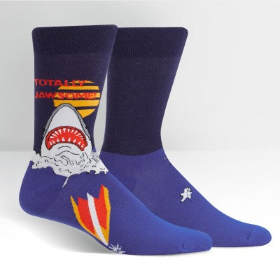 Sock It To Me Men's Crew Socks - Totally Jawesome