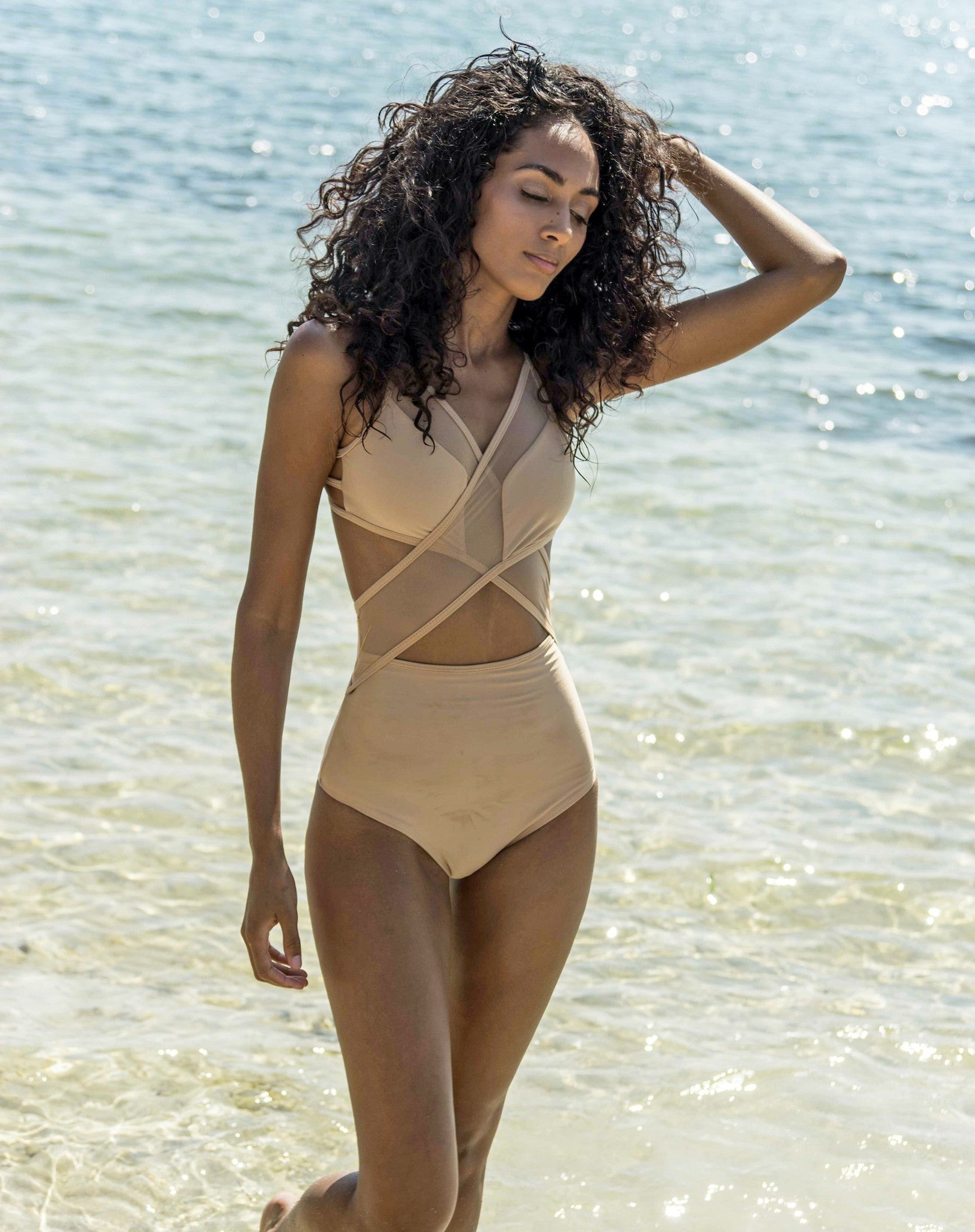 Dare To Bare Mesh One Piece
