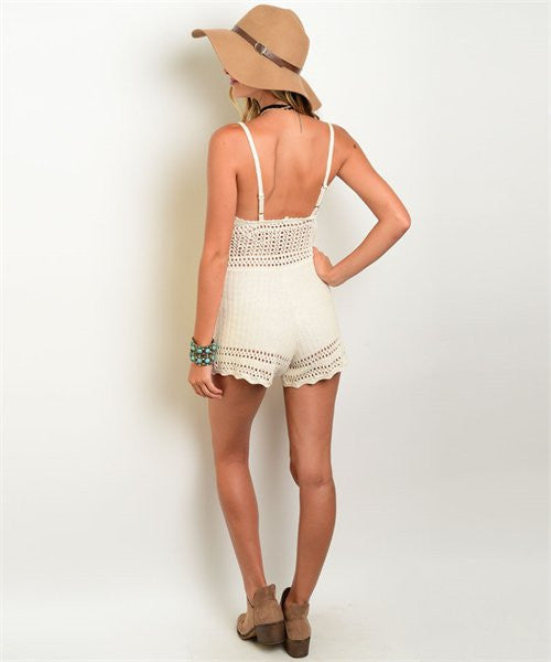 Serenity Crochet Playsuit