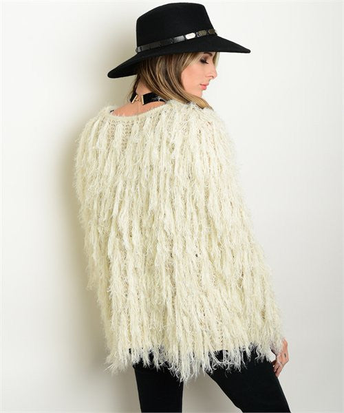 Wiley Faux Fur Sweater