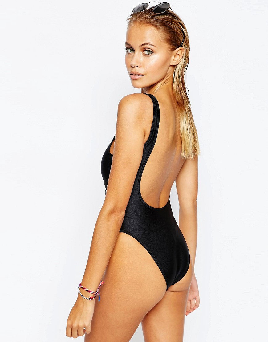 a1d39e0a7f472 Melanin Poppin Black One Piece - Buy Swimsuits on Ainsley&August Online!