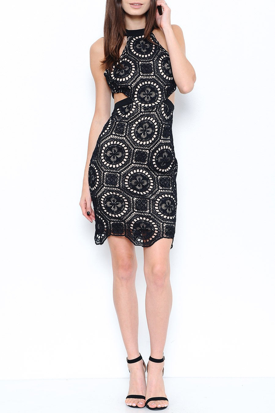 Cruz Crochet Cocktail Dress