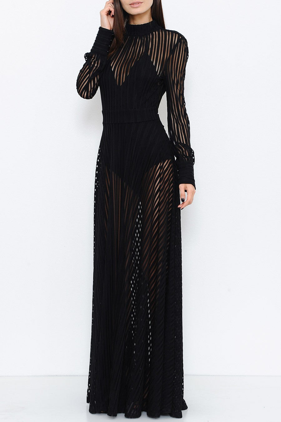 Maxwell Sheer Maxi Dress